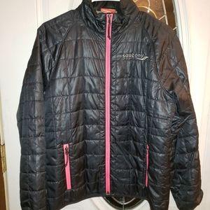 Saucony Size Medium Women Lightweight Puffy Coat